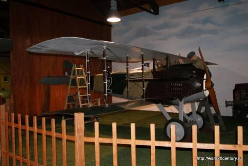 французский истребитель времен Первой Мировой войны SPAD S-VIIC.1