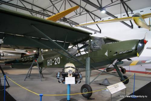 связной самолет Mraz K-65 Cap