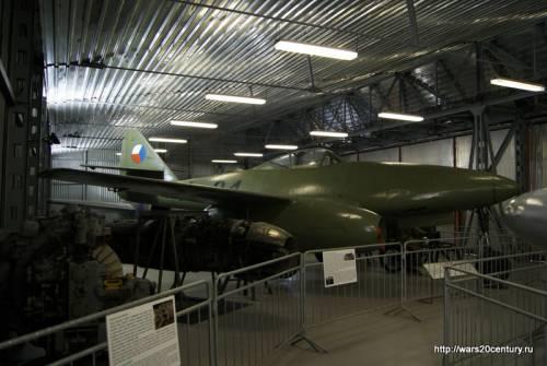 реактивный истребитель Avia S-92