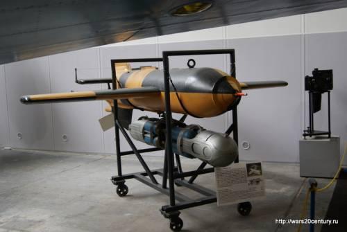 противокорабельная ракета Henschel Hs 293A