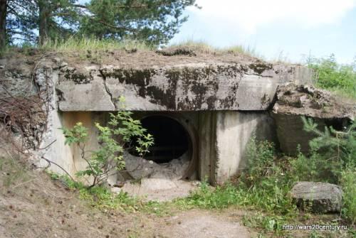 советский артиллерийский капонир в Порккала-Удд