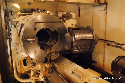 казенная часть 305 мм орудия на Куйвасаари
