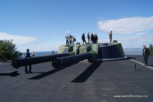 12-ти дюймовая башенная береговая батарея на Куйвасаари