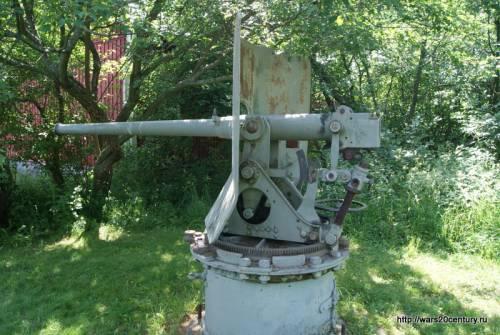 57-мм скорострельная береговая пушка Норденфельда обр. 1892 года